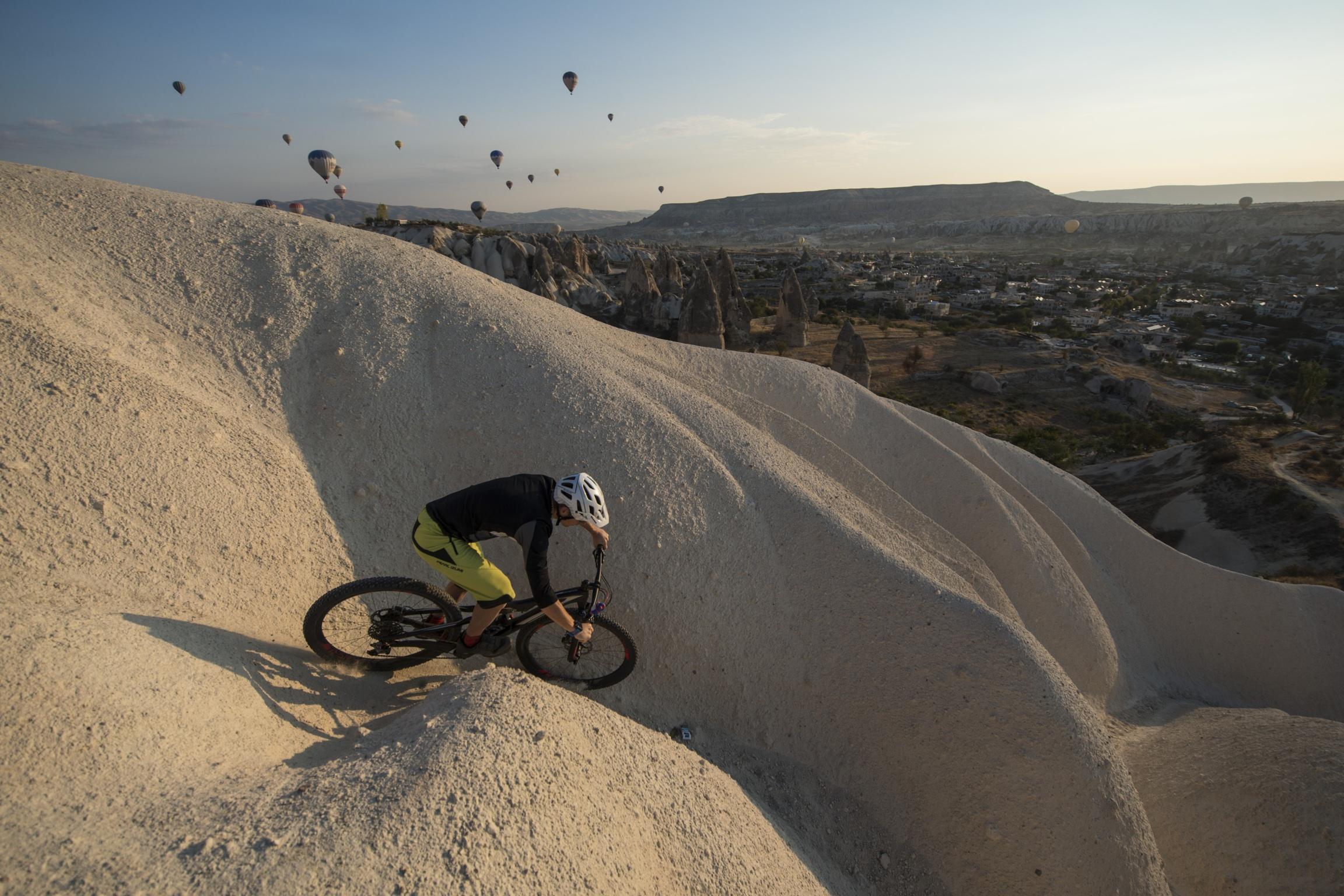 mountainbike cappadocia