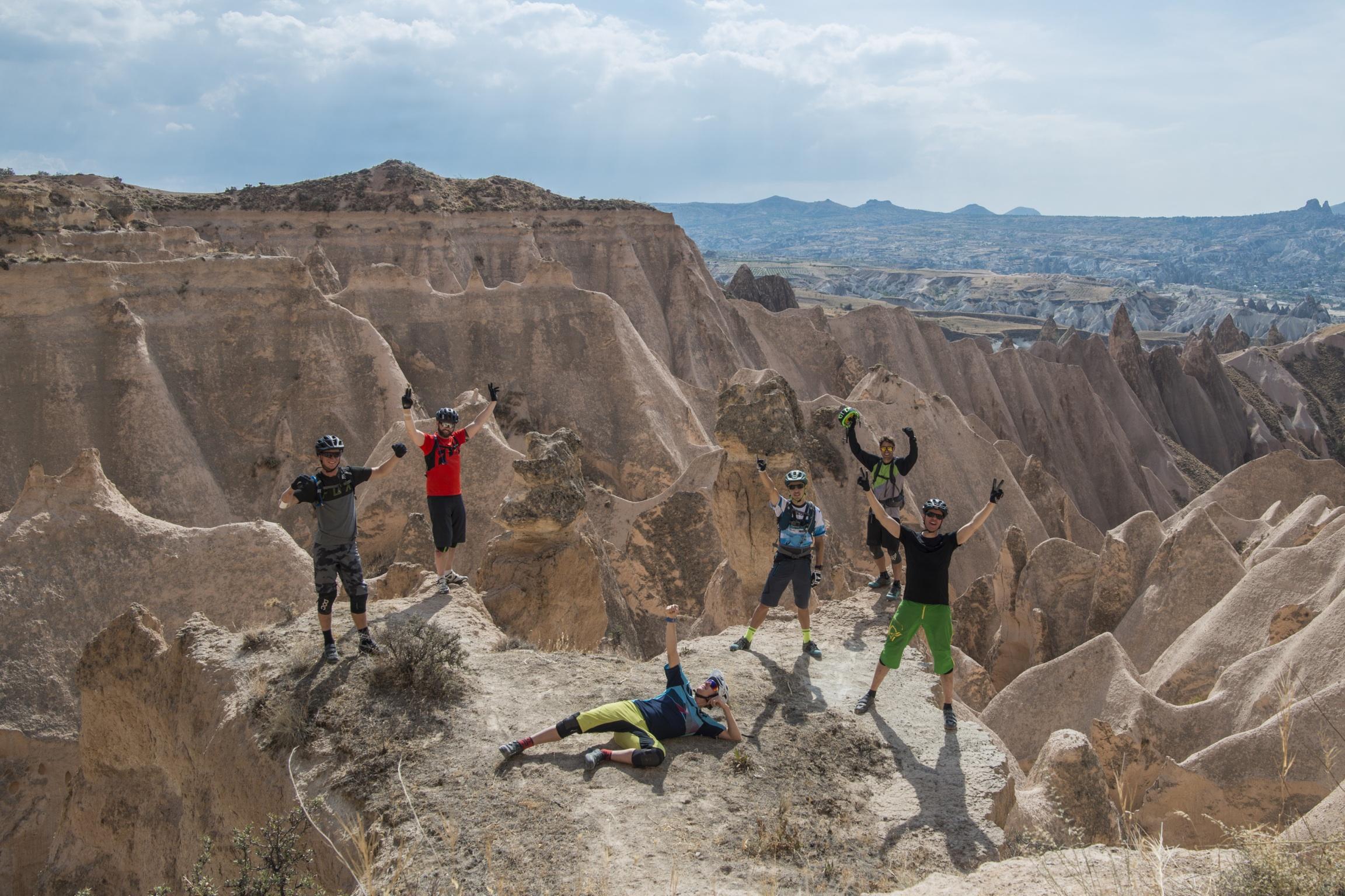 Mountainbike i Cappadocia xtravel